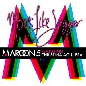 Maroon 5, Moves Like Jagger (feat. Christina Aguilera), Piano, Vocal & Guitar (Right-Hand Melody)