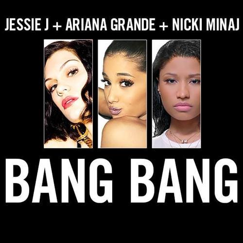 Jessie J, Ariana Grande & Nicki Minaj, Bang Bang, Piano, Vocal & Guitar (Right-Hand Melody)