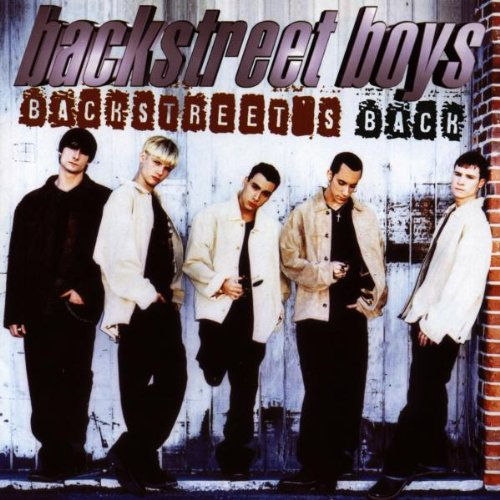 Backstreet Boys, Everybody (Backstreet's Back), Piano, Vocal & Guitar