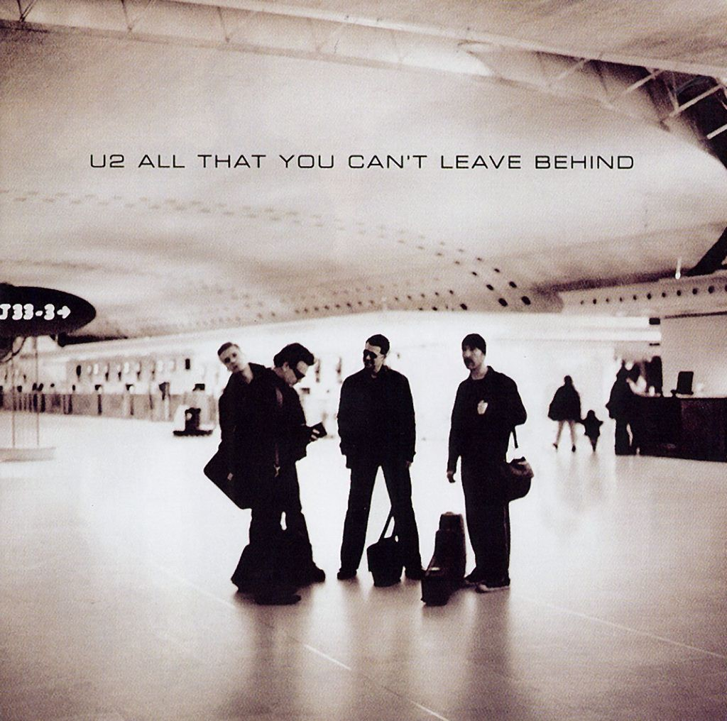 U2, The Ground Beneath Her Feet (from The Million Dollar Hotel), Piano, Vocal & Guitar