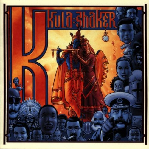 Kula Shaker, Govinda, Piano, Vocal & Guitar (Right-Hand Melody)
