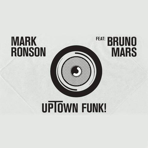 Mark Ronson, Uptown Funk (feat. Bruno Mars), Piano, Vocal & Guitar (Right-Hand Melody)