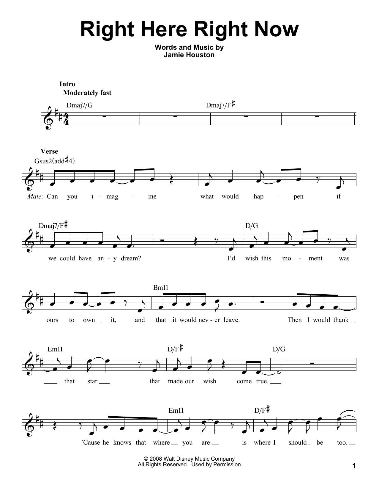 "Luther vandross ""here and now"" sheet music notes, chords."