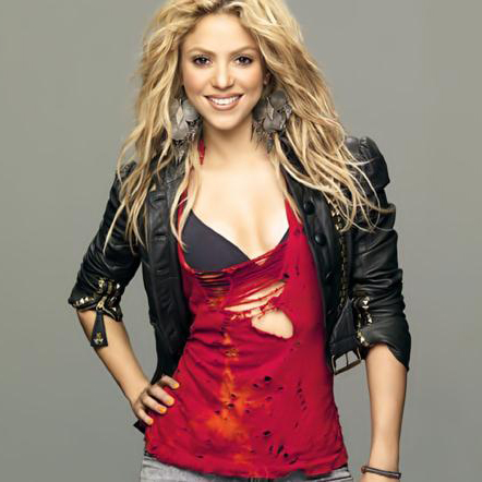 Shakira, Try Everything, Piano (Big Notes)