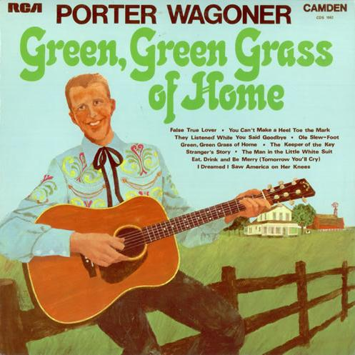 Porter Wagoner, Green Green Grass Of Home, Piano, Vocal & Guitar (Right-Hand Melody)