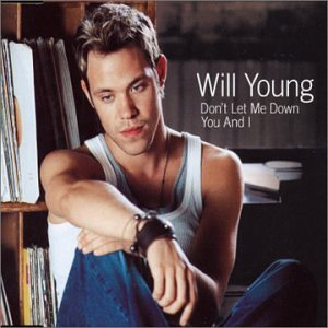 Will Young, Don't Let Me Down, Piano, Vocal & Guitar