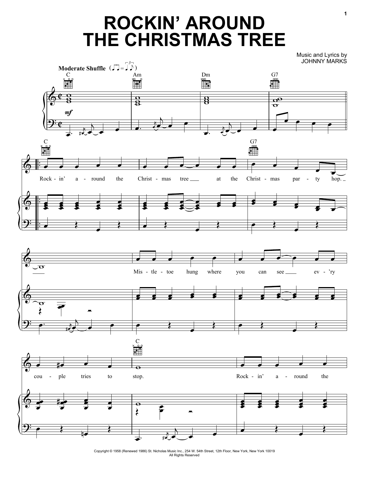 Brenda Lee Rockin Around The Christmas Tree Lyrics.Brenda Lee Rockin Around The Christmas Tree Sheet Music Notes Chords Download Printable Piano Vocal Guitar Right Hand Melody Sku 30252