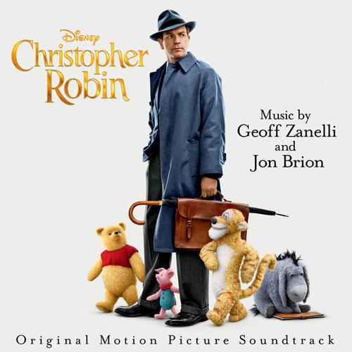 Geoff Zanelli & Jon Brion, Through The Tree (from Christopher Robin), Piano Solo
