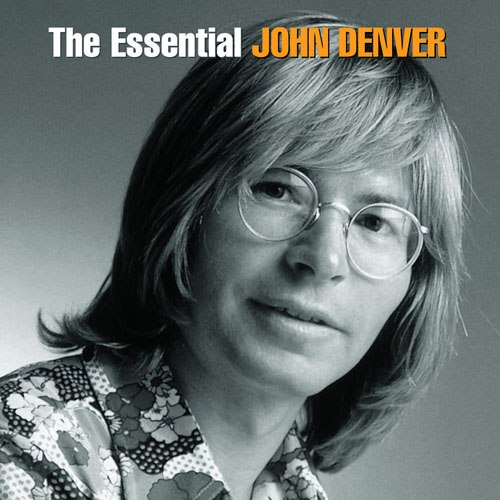 John Denver, Take Me Home, Country Roads, Easy Guitar with TAB