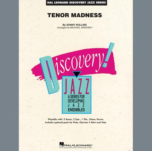 Sonny Rollins, Tenor Madness (arr. Mark Taylor) - Part 2 - Alto Sax, Jazz Ensemble