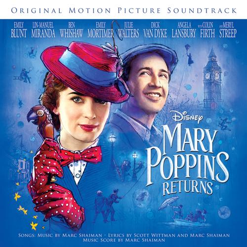 Emily Blunt & Lin-Manuel Miranda, The Royal Doulton Music Hall (from Mary Poppins Returns), Easy Piano