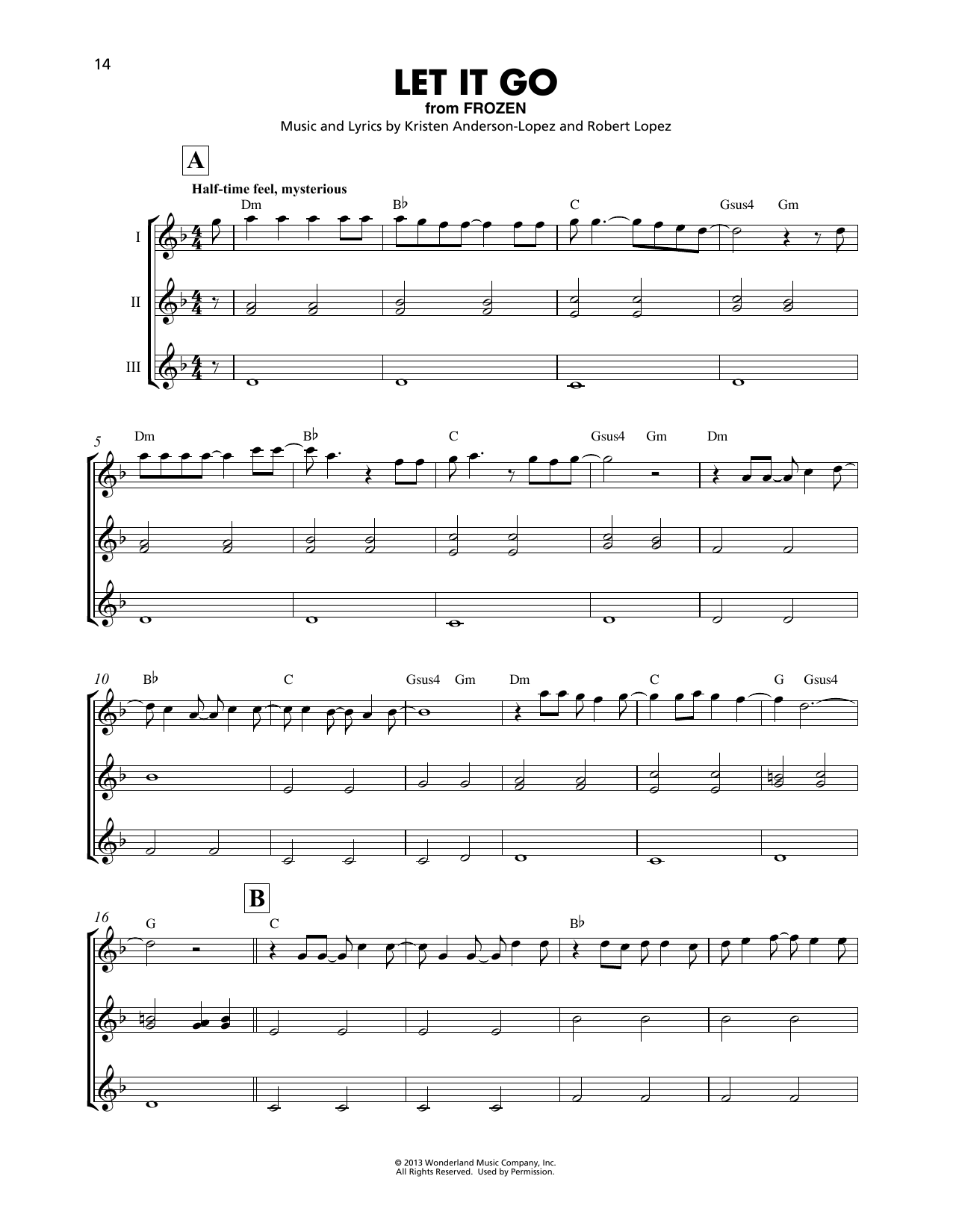 picture relating to Let It Be Piano Sheet Music Free Printable identified as Idina Menzel Permit It Shift (towards Frozen) Sheet Audio Notes, Chords Obtain Printable Ukulele Ensemble - SKU: 410271