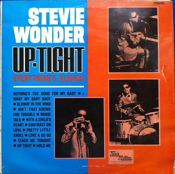 Stevie Wonder, Uptight (Everything's Alright), Bass Guitar Tab
