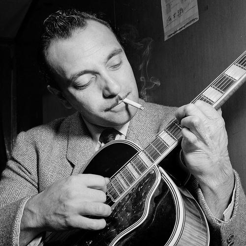 Django Reinhardt, Black And White, Piano