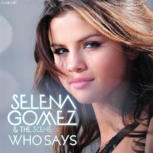 Selena Gomez & The Scene, Who Says, Piano, Vocal & Guitar (Right-Hand Melody)