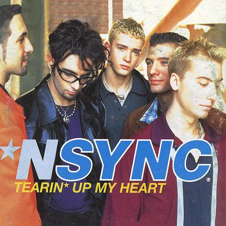 'N Sync, Tearin' Up My Heart, Piano, Vocal & Guitar (Right-Hand Melody)