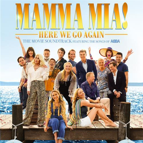 ABBA, Kisses Of Fire (from Mamma Mia! Here We Go Again), Piano, Vocal & Guitar (Right-Hand Melody)