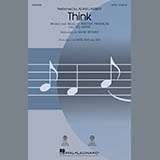 Adam Lambert Think (from Captain Underpants: The First Epic Movie) (Arr. Mark Brymer) - Guitar Sheet Music and PDF music score - SKU 403249