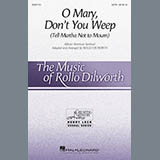 African-American Spiritual O Mary, Don't You Weep (Tell Martha Not to Mourn) (arr. Rollo Dilworth) Sheet Music and PDF music score - SKU 415677