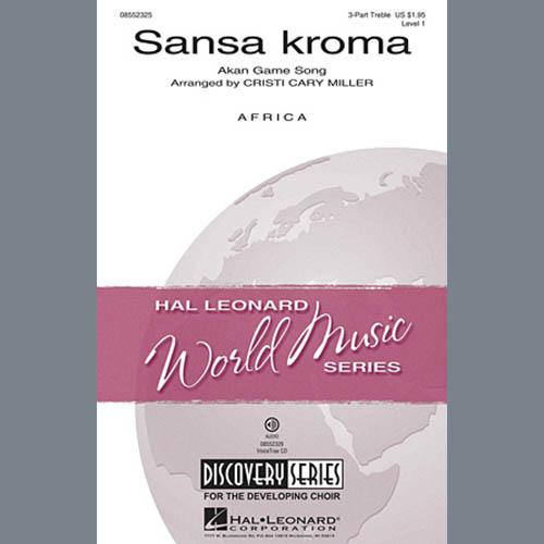 Sansa Kroma (arr. Cristi Cary Miller) sheet music