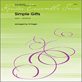 Al Hager Simple Gifts - 1st Flute Sheet Music and PDF music score - SKU 325681