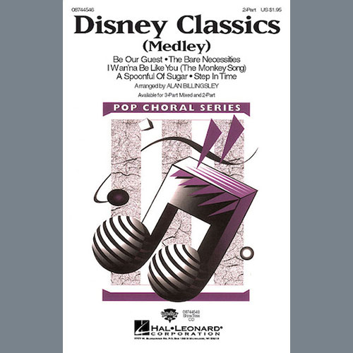 Alan Billingsley, Disney Classics (Medley), 3-Part Mixed Choir