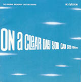 Alan Jay Lerner On A Clear Day (You Can See Forever) Sheet Music and PDF music score - SKU 60700