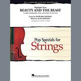 Alan Menken Beauty and the Beast Highlights (arr. Calvin Custer) - Violin 2 Sheet Music and PDF music score - SKU 382700