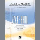 Alan Menken Music from Aladdin (arr. Johnnie Vinson) - Pt.1 - Flute Sheet Music and PDF music score - SKU 419637