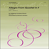 Alan Woy Allegro From Quartet In F (K. 168, Mvt. 4) - 2nd Bb Clarinet Sheet Music and PDF music score - SKU 359908