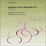 Alan Woy Allegro From Quartet In F (K. 168, Mvt. 4) - Bb Bass Clarinet Sheet Music and PDF music score - SKU 359910