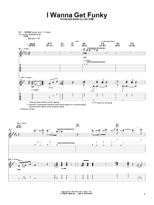 Download Albert King I Wanna Get Funky sheet music and printable PDF score & Blues music notes
