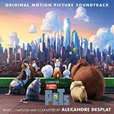 Alexandre Desplat Wet But Handsome/Blue Taxi Sheet Music and PDF music score - SKU 176070