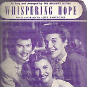 Alice Hawthorne Whispering Hope profile image