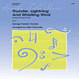 Allen Ostrander Thunder, Lightning And Whistling Wind (Coupre Tal Volta Il Cielo) - Trombone Sheet Music and PDF music score - SKU 369234
