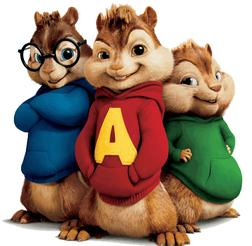 Alvin and the Chipmunks The Chipmunk Song Sheet Music and PDF music score - SKU 254969