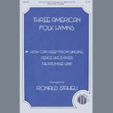 American Folk Hymn How Can I Keep From Singing (arr. Ronald Staheli) Sheet Music and PDF music score - SKU 448508