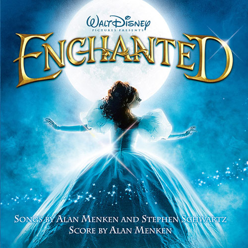 Amy Adams, That's How You Know (from Enchanted), Piano, Vocal & Guitar (Right-Hand Melody)