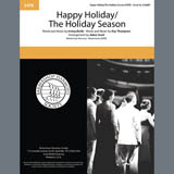 Andy Williams Happy Holiday/The Holiday Season (arr. Adam Scott) Sheet Music and PDF music score - SKU 407173