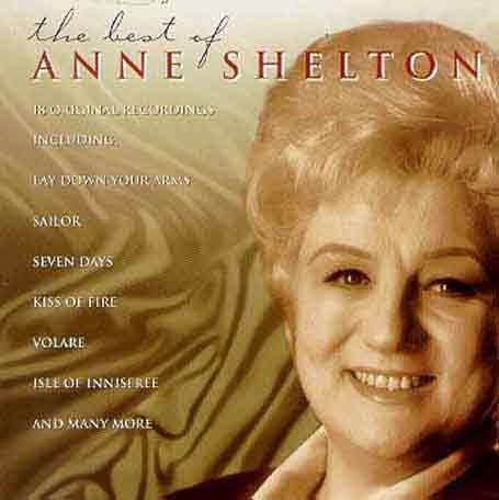 Anne Shelton, Sailor, Piano, Vocal & Guitar (Right-Hand Melody)