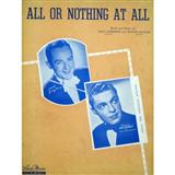 Frank Sinatra All Or Nothing At All Sheet Music and PDF music score - SKU 13618