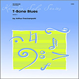 Arthur Frackenpohl T-bone Blues - Solo Trombone Sheet Music and PDF music score - SKU 330589
