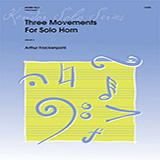 Arthur Frankenpohl Three Movements For Solo Horn Sheet Music and PDF music score - SKU 373463