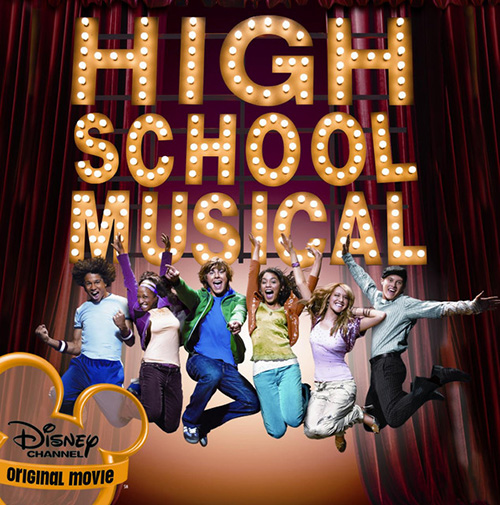 Ashley Tisdale and Lucas Grabeel, Bop To The Top (from High School Musical), Easy Guitar Tab