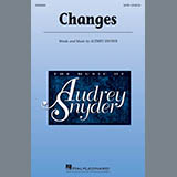 Audrey Snyder Changes Sheet Music and PDF music score - SKU 410529