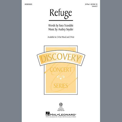 Audrey Snyder, Refuge, 3-Part Mixed Choir
