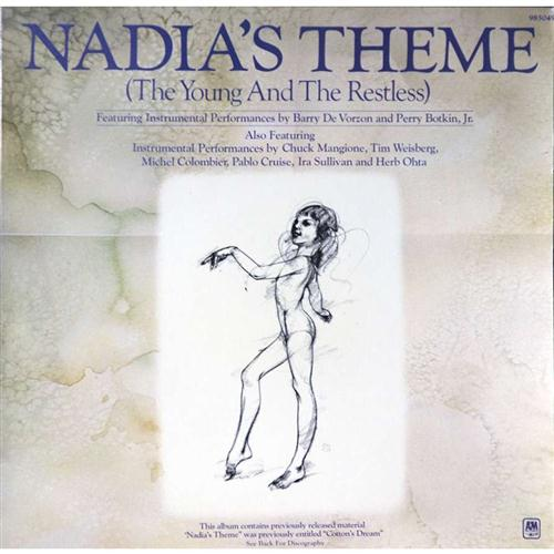 Barry DeVorzon & Perry Botkin Jr., Nadia's Theme, Piano, Vocal & Guitar (Right-Hand Melody)