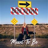 Bebe Rexha Meant To Be (feat. Florida Georgia Line) Sheet Music and PDF music score - SKU 197099