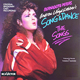 Bernadette Peters Unexpected Song (from Song & Dance) Sheet Music and PDF music score - SKU 252723