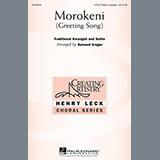 Bernard Krüger Morokeni (Welcome Song) Sheet Music and PDF music score - SKU 158180